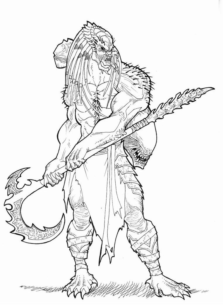 762x1049 Warrior Predator By Ronniesolano On Predator