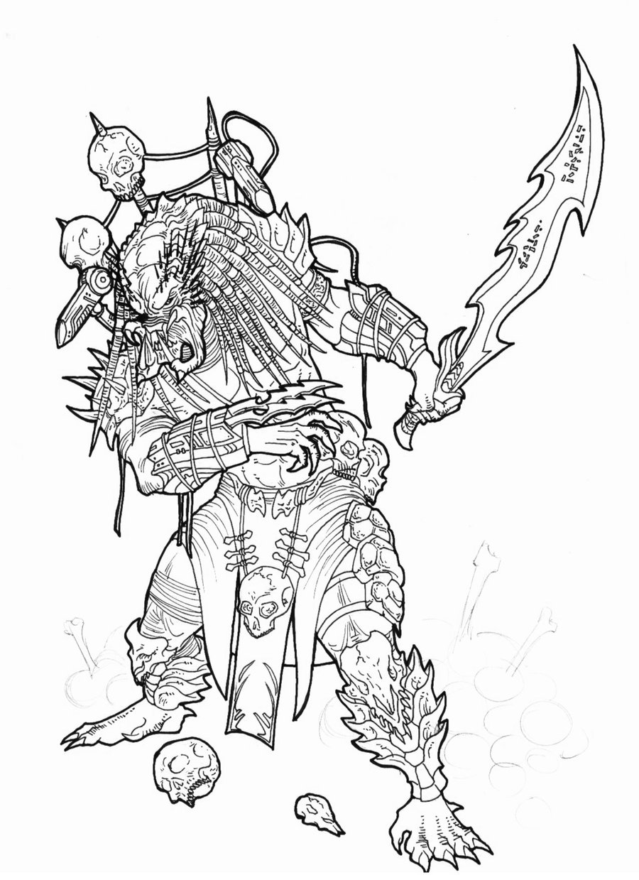 900x1239 Yautja (Predator) Teenwolf Next Generation Wikia Fandom