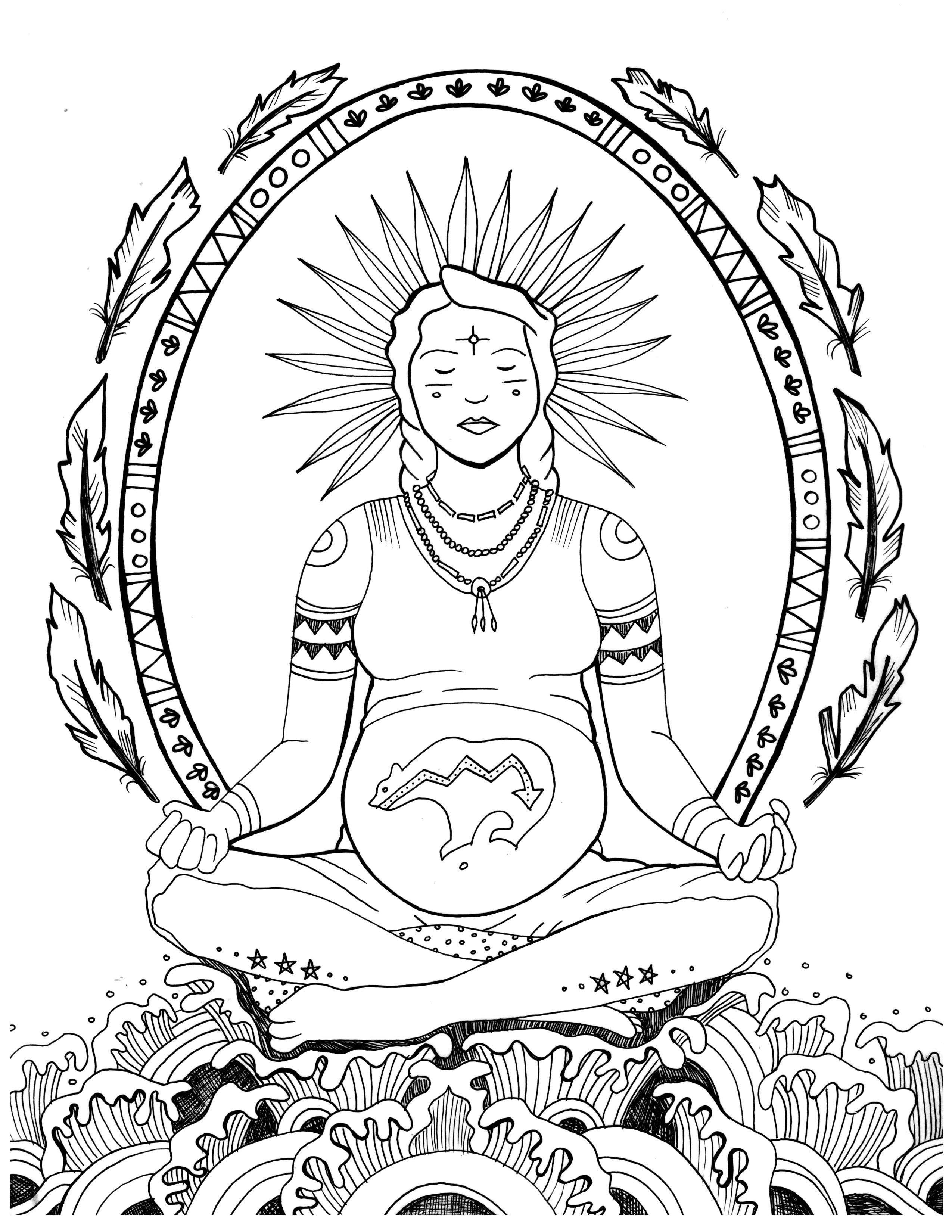 2550x3300 Free Pregnancy Coloring Pages