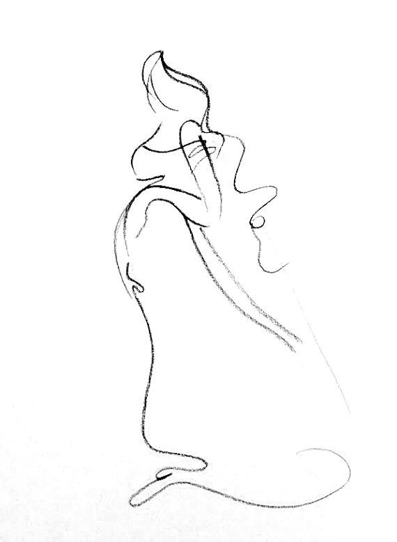 570x779 Original Charcoal Sketch