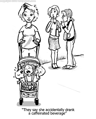 Pregnant Cartoon Drawing