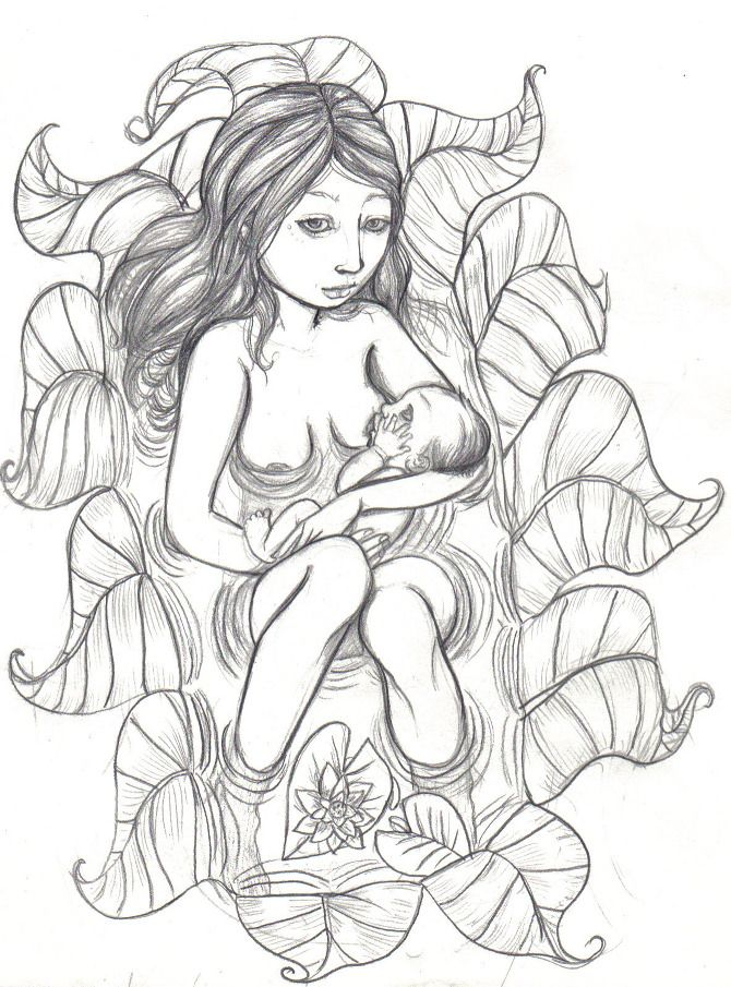 670x905 The Best Pregnancy Drawing Ideas On Studio