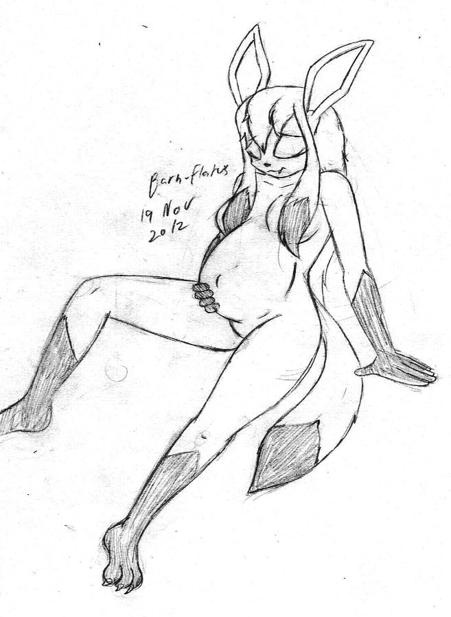 657x900 Pregnant Glaceon By Barn Flakes
