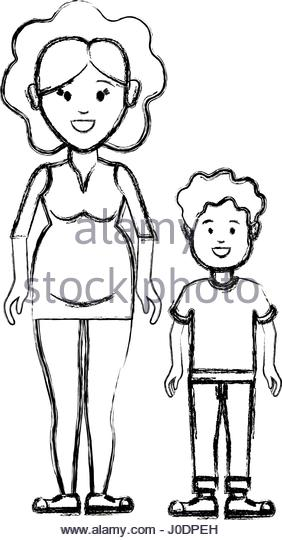 282x540 Pregnant Woman Silhouette Illustration Stock Photos Amp Pregnant