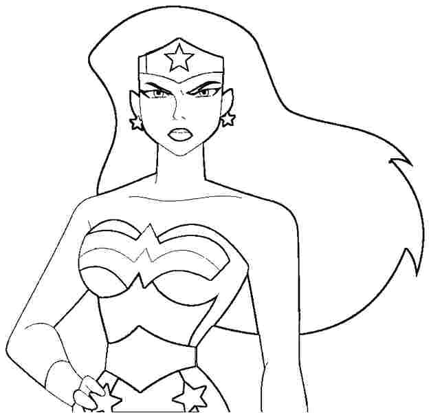 627x600 Woman At The Well Coloring Page Fun Coloring Pages Wonder Woman