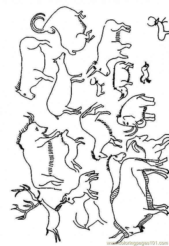 586x850 Cave Painting