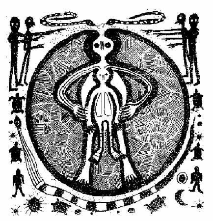 434x450 Ancient Aliens Cave Paintings Strange Unexplained Mysteries