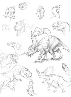 236x319 Papo Raptor Sketches By Thazumi On Prehistoric