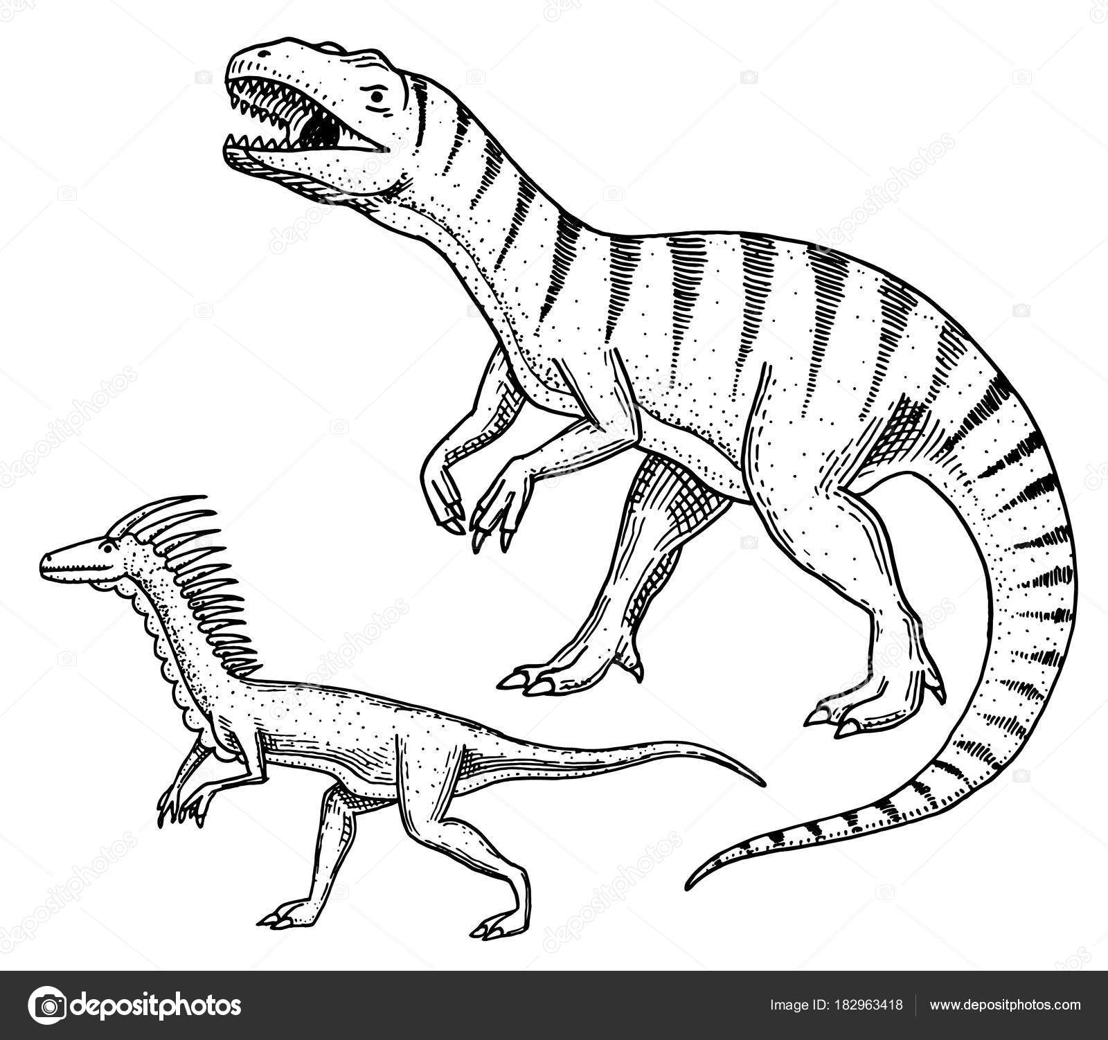 1600x1502 Dinosaurs Tyrannosaurus Rex, Velociraptor, Ceratosaurus