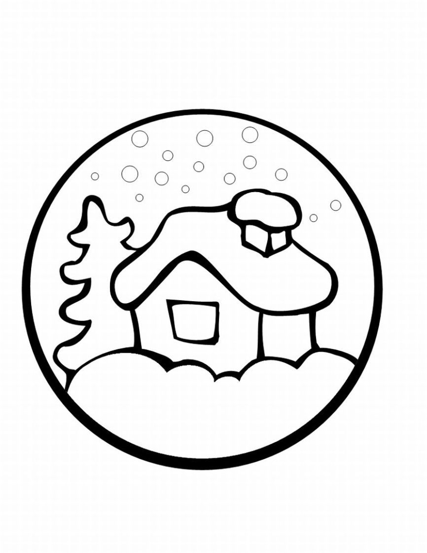 866x1120 Gift These Preschool Christmas Coloring Pages To Your Little Kids