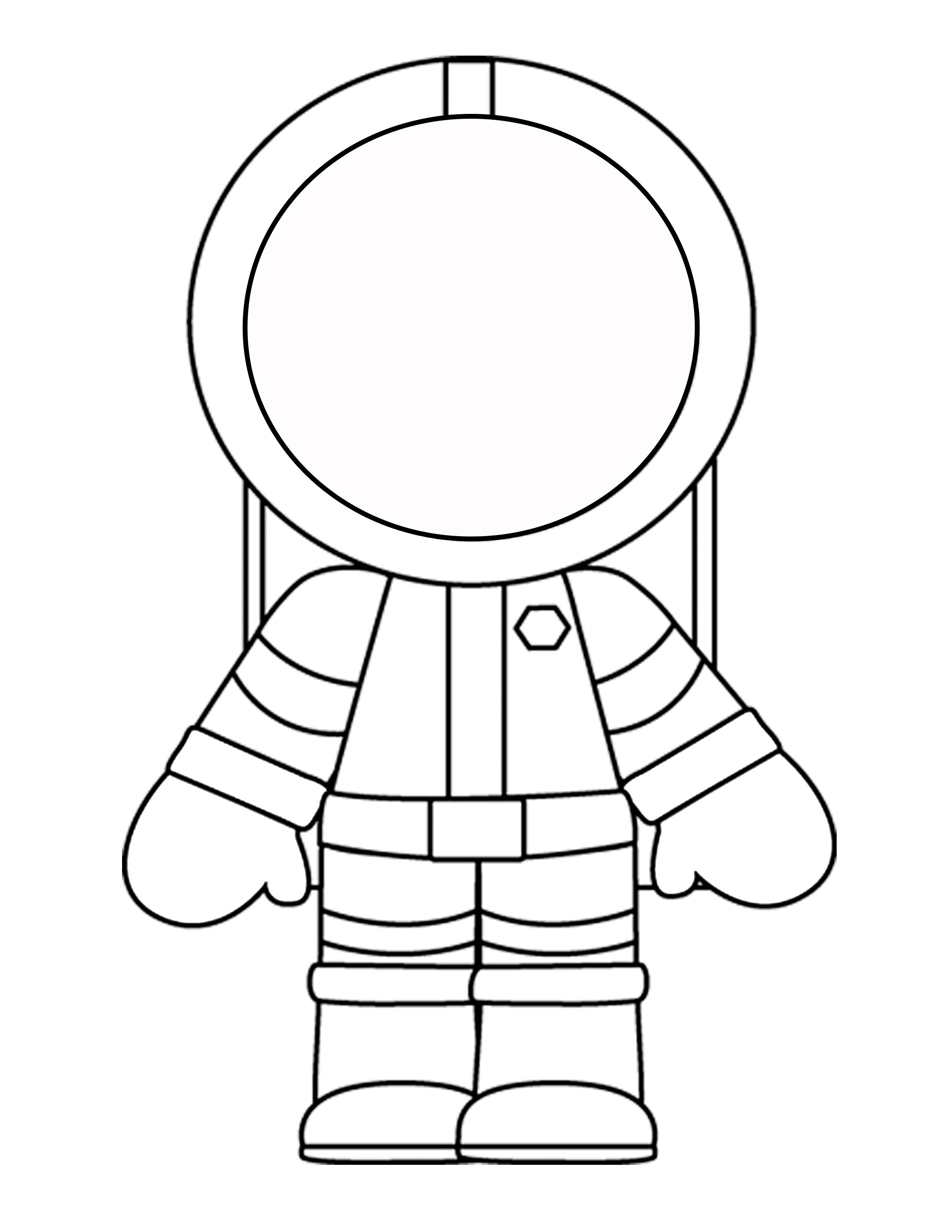 2550x3300 Printable Template For The Astronaut Mini Book Craft Vbs 2014