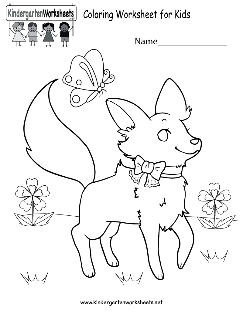 800x1035 Kids. Children Worksheets Kindergarten Coloring Worksheets