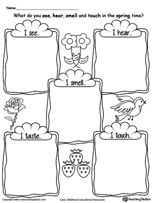 300x400 Kindergarten Drawing Printable Worksheets