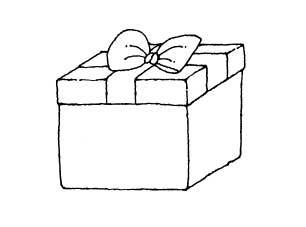 306x227 Gift Box Drawing Music Box New Westminster Music School