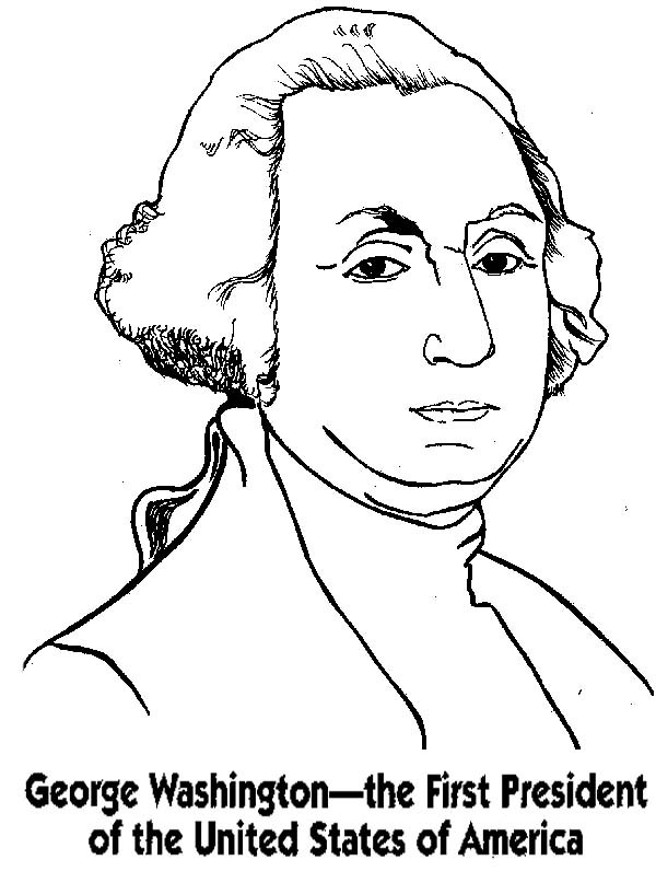 600x807 George Washington The First President The United States