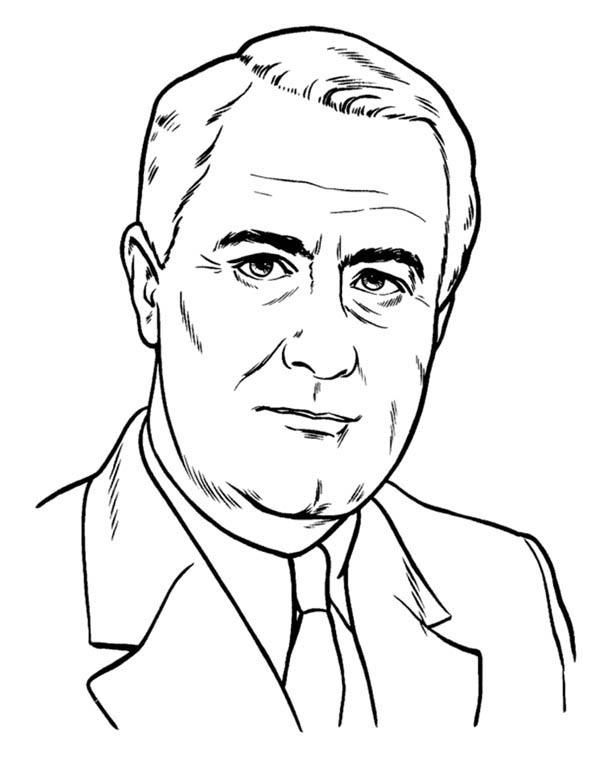 600x778 President Lbj Presidents Day Coloring Page President Lbj