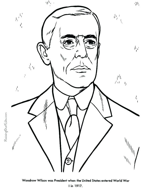 670x820 Barack Obama Coloring Page Free Printable President Facts
