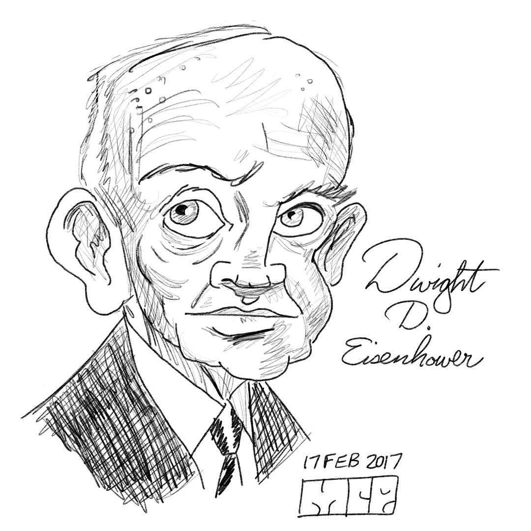1080x1080 Dwight D. Eisenhower For Presidents's Day