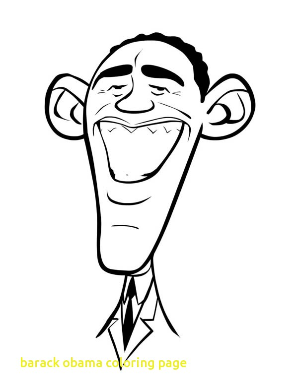 600x788 Barack Obama Coloring Page With Want To Color Hussein Obama Barack