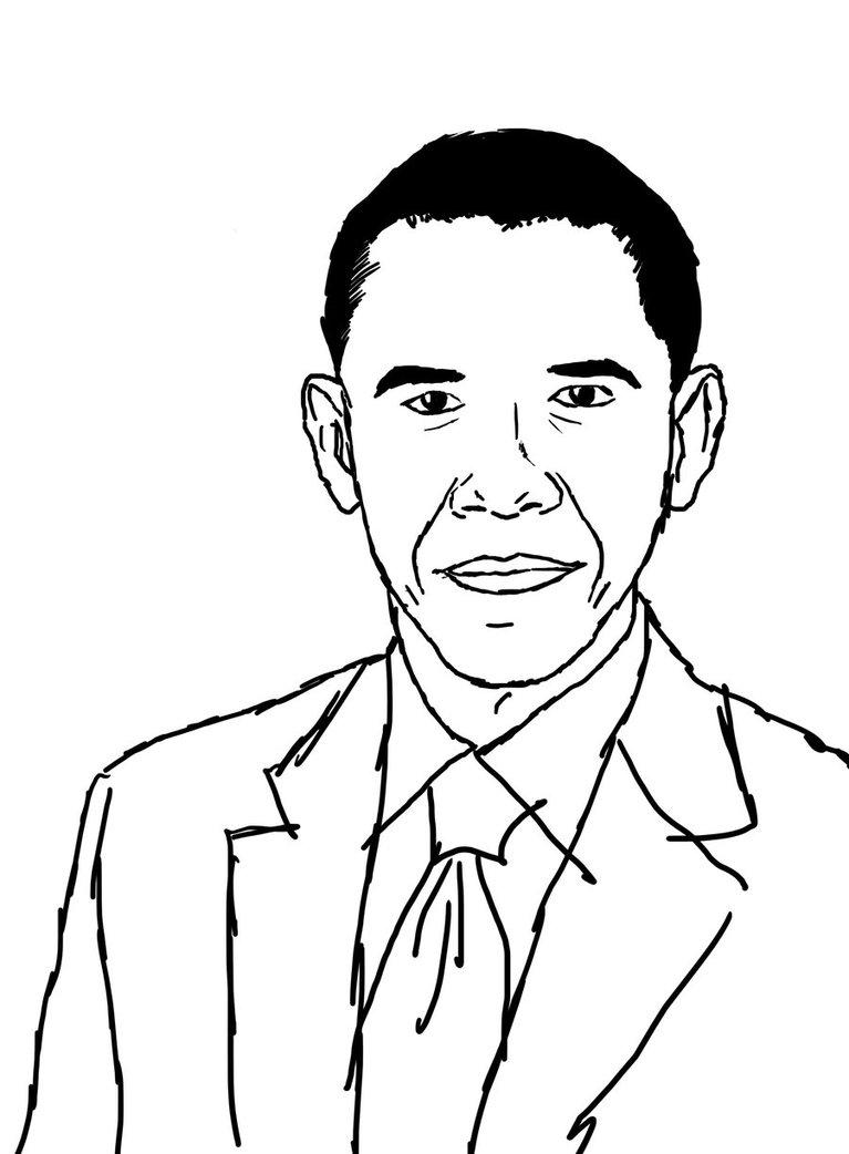767x1042 Barack Obama By Hanncommander