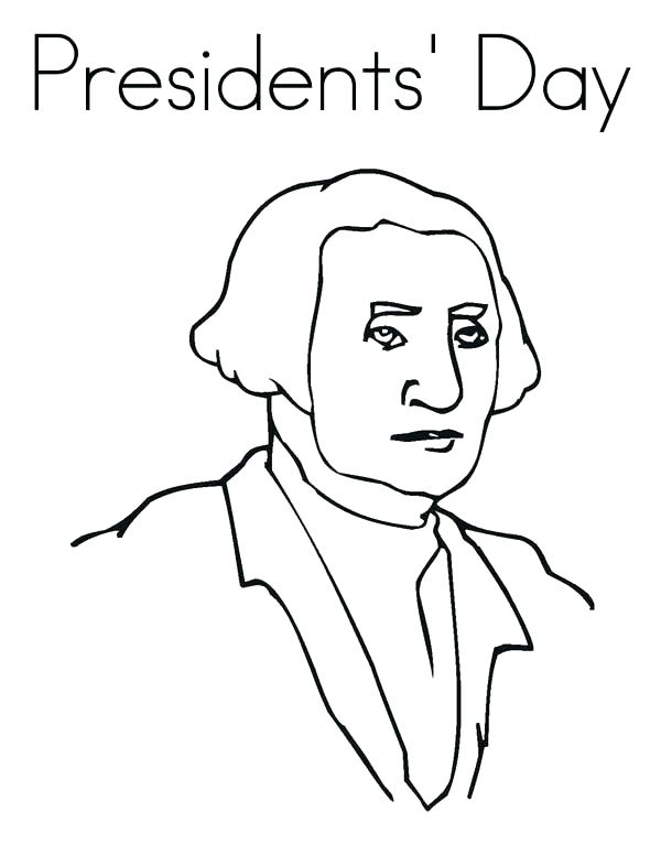 600x776 Presidents Day Coloring Page Coloring Pages Of A Drawing Of
