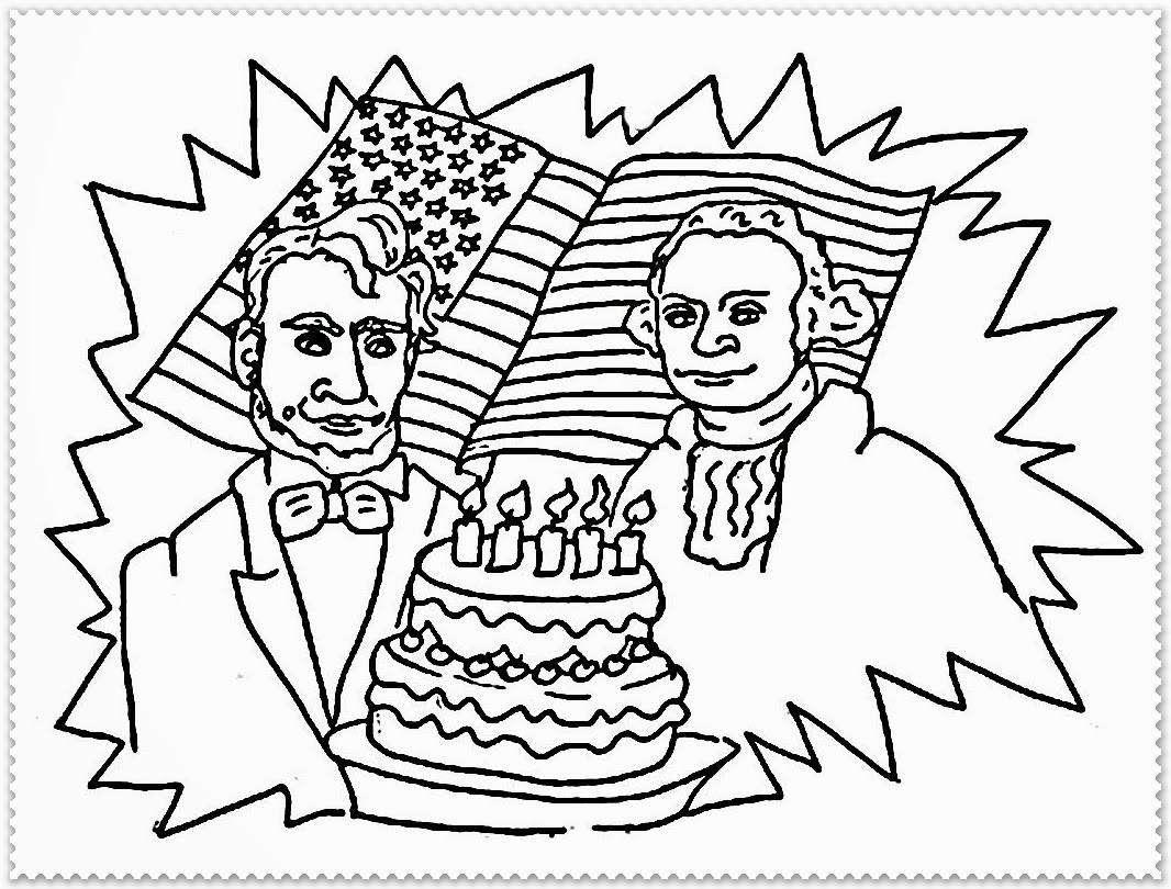 1066x810 The Most Amazing Collection Of Coloring Pages For President Day 2018