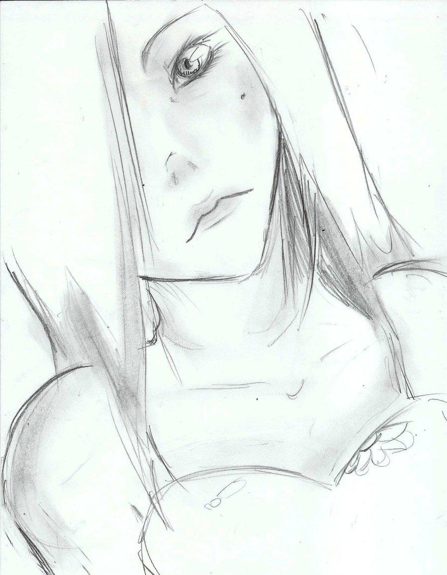 900x1159 Pretty Face Quick Sketch By Kirakyuuketsuki