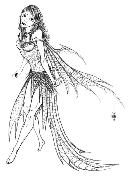 Pretty Fairy Drawing At Getdrawings Com Free For Personal Use