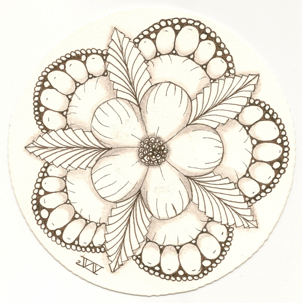 Pretty Flowers Drawing At Getdrawings Free For Personal Use