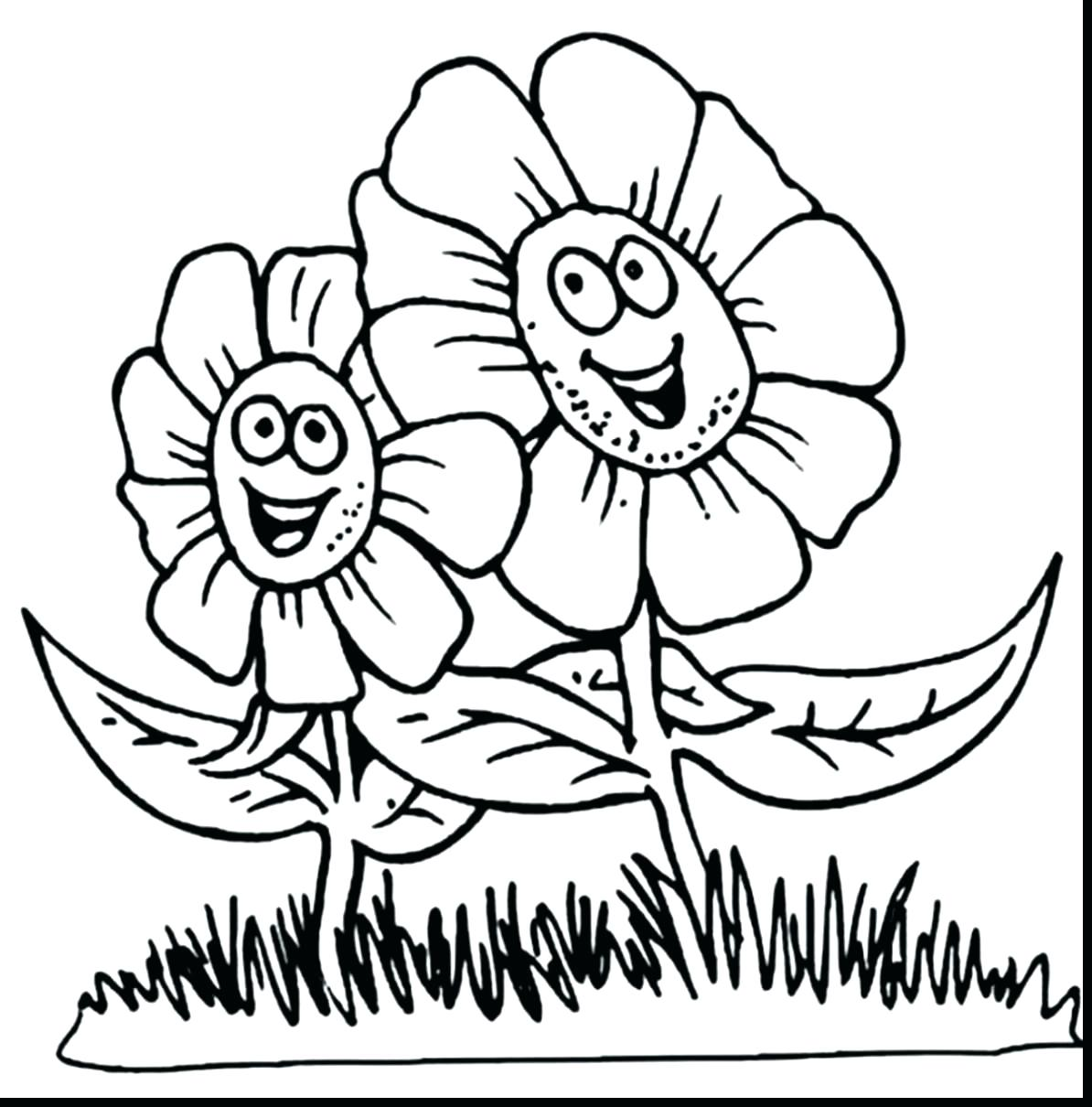 1194x1210 Coloring Pretty Flowers Coloring Pages Flower Drawings To Draw