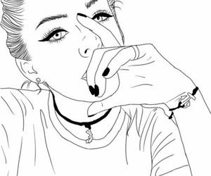 Pretty Girl Drawing