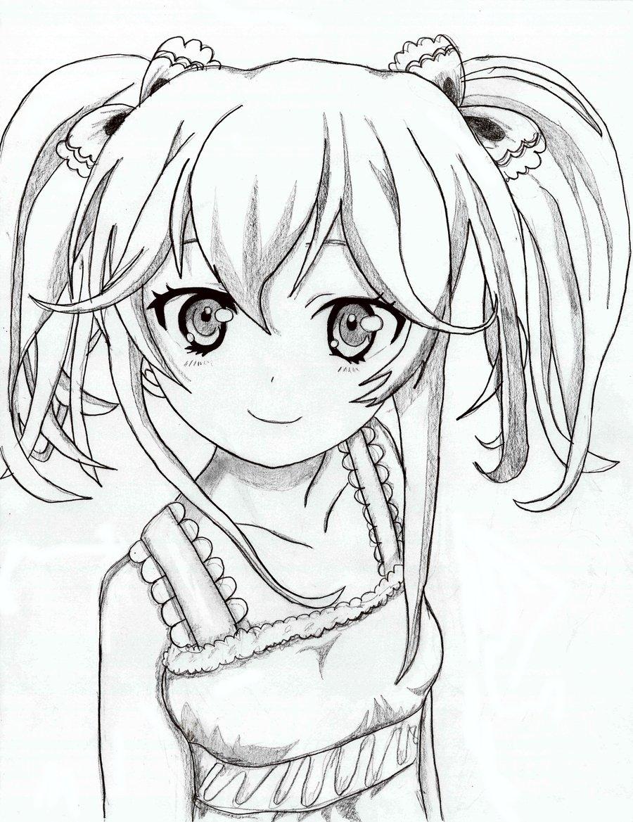 900x1169 Cute Pajama Girl By Goreyalphabet
