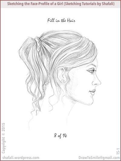 400x533 Sketching Tutorial How To Sketch The Facial Profile
