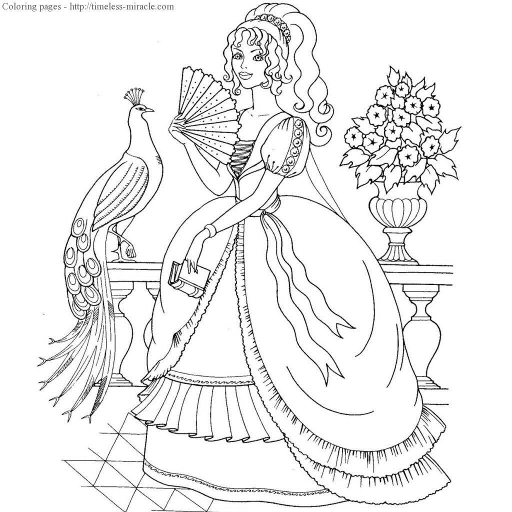 Pretty Princess Drawing at GetDrawings.com | Free for personal use ...