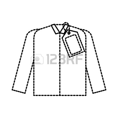 450x450 Market Clothes Price Tag New Wear Shirt Vector Illustration