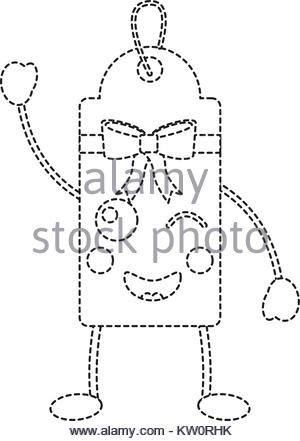 300x441 Gift Or Price Tag Happy Emoji Icon Image Stock Vector Art