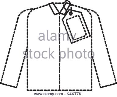 384x320 Market Clothes Price Tag New Wear Shirt Stock Vector Art