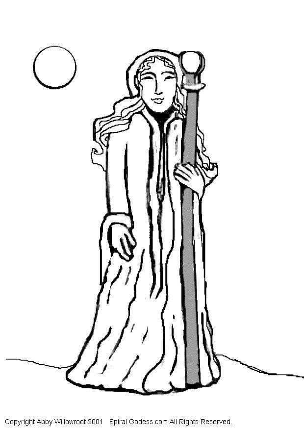 620x875 Coloring Page Priest