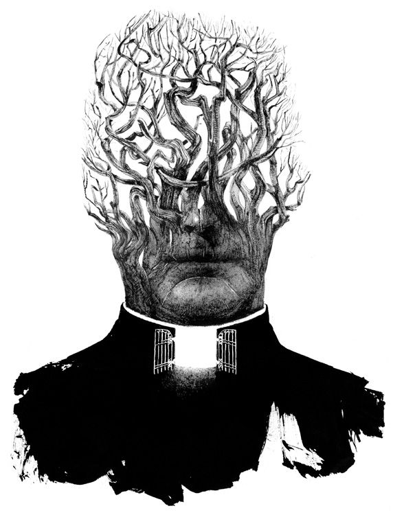 572x750 Sam Weber's Illustration For The Priest That Preyed In The New