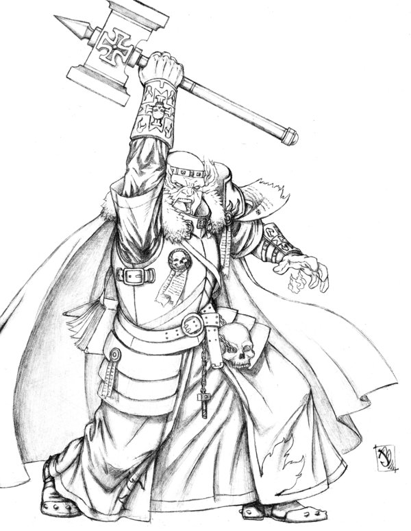 600x774 Warrior Priest By Jaybob
