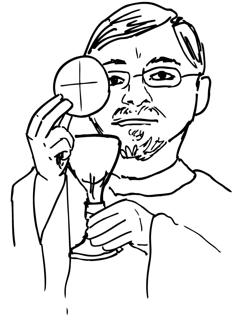 798x1120 Catholic Priest Clipart
