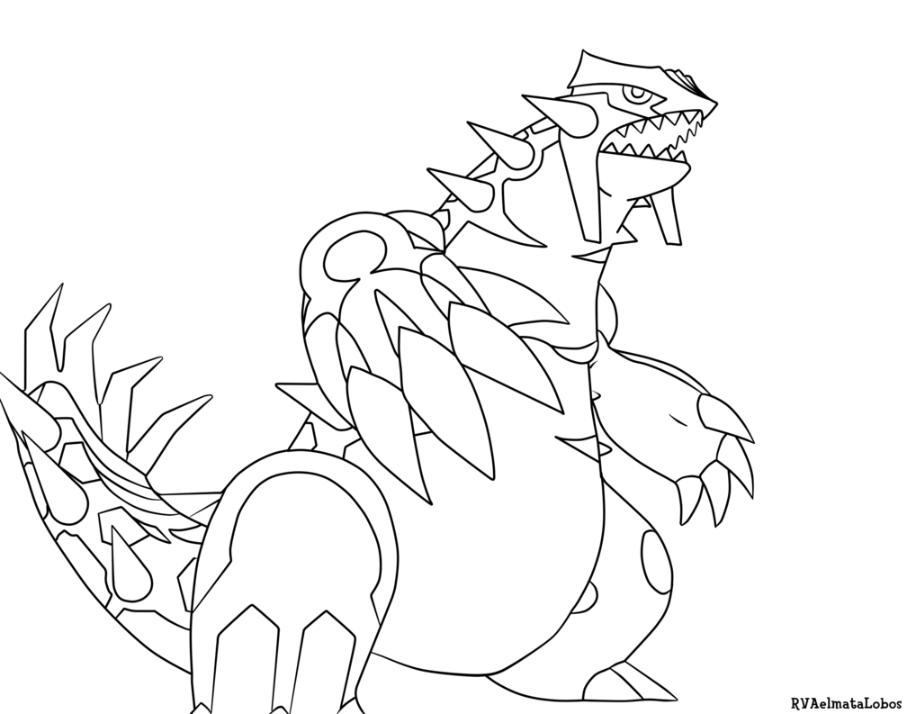 1008x793 Pokemon Groudon Coloring Pages Coloring Page For Kids