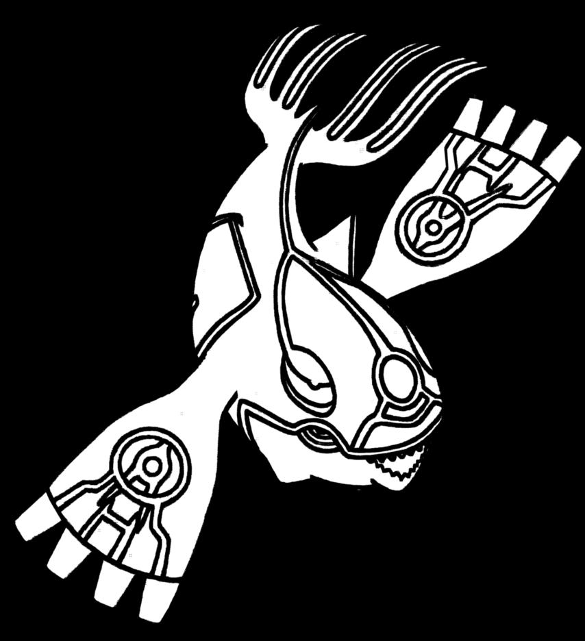Primal Kyogre Drawing
