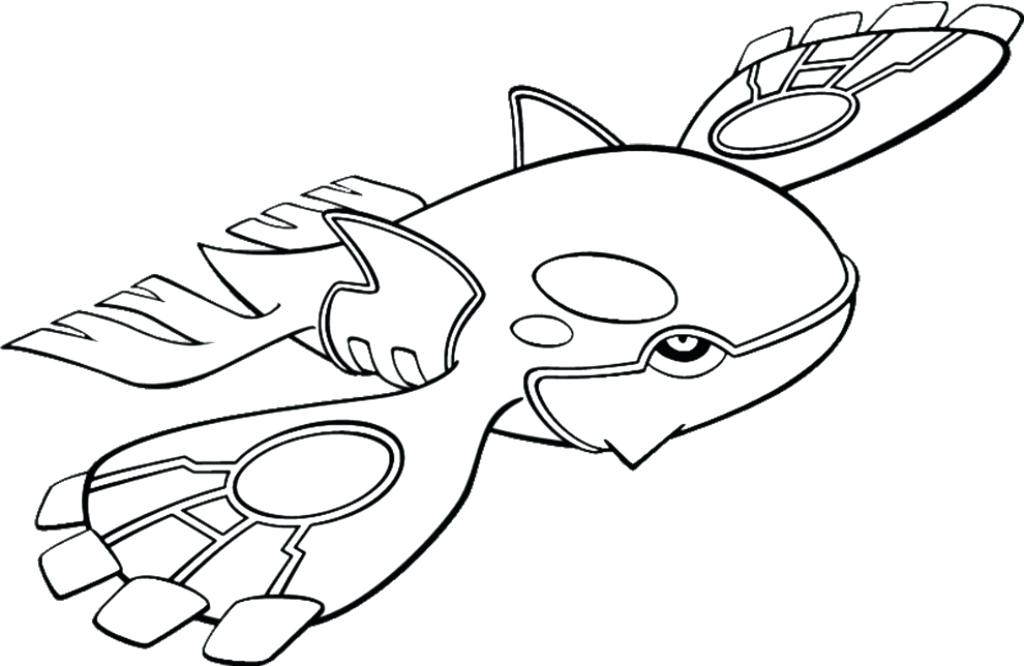 1024x666 Kyogre Coloring Pages X Primal Kyogre Colouring Pages