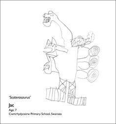 236x253 Year 1 Draw Colourful Dinosaurs. Dinosaur Drawings Etc.