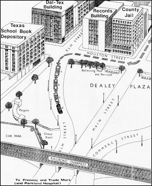 528x648 Dealey Plaza Drawing