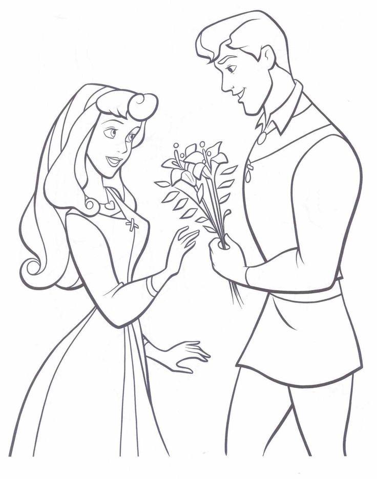 Prince And Princess Drawing