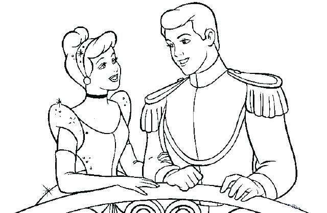 640x418 Prince Coloring Pages Looking At Her Prince Coloring Page Princess
