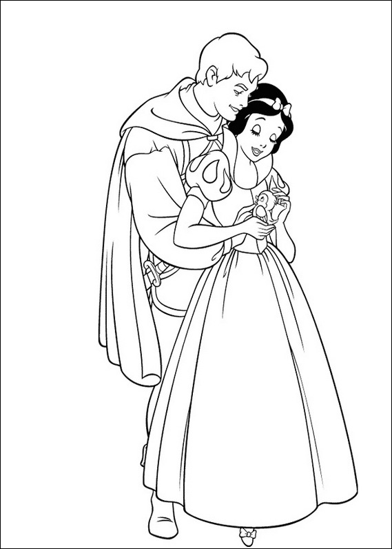 569x796 Prince And Snow White Drawing Drawing Snow White