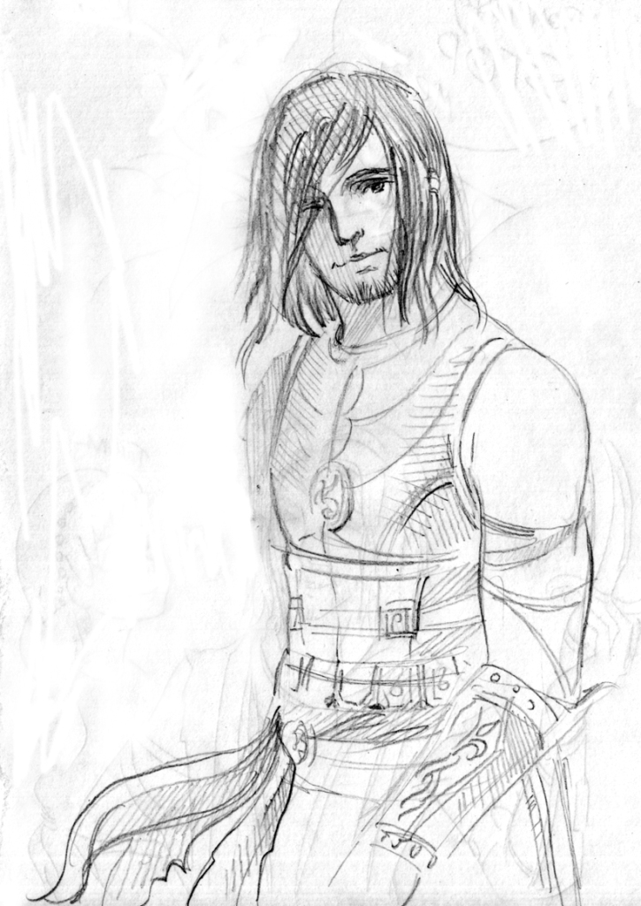 725x1024 Prince Of Persia Sketch By Tatianaonegina
